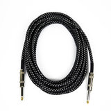 Black Tweed Gitaarkabel / Instrument kabel 6 m_